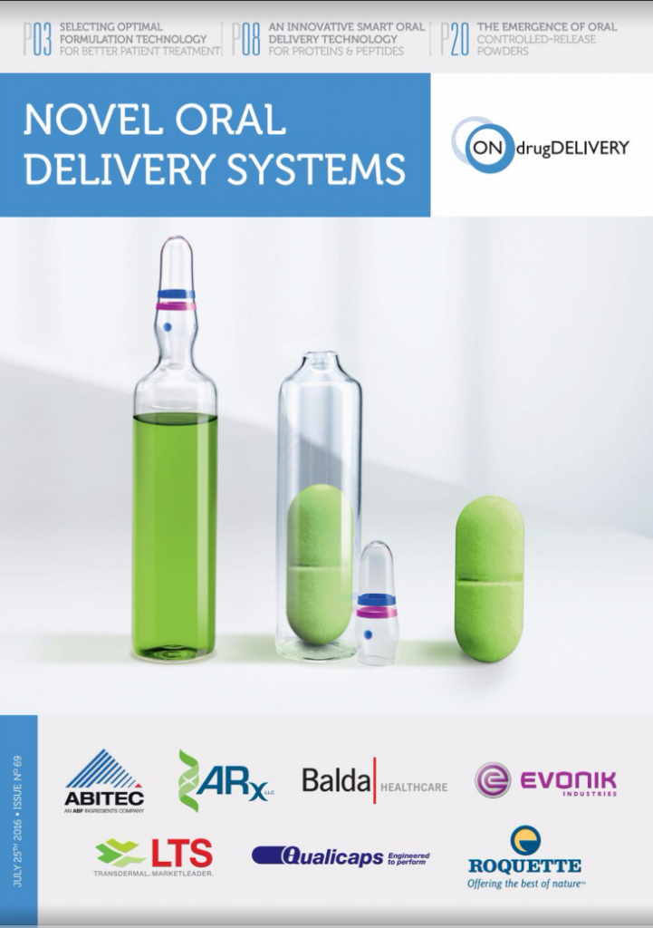 Novel Oral Drug Delivery Systems issue 69