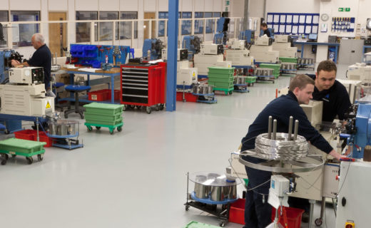 Figure 1: The factory floor at Advanex.