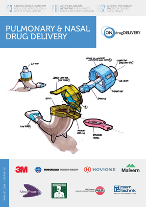 Pulmonary & Nasal Drug Delivery - #50 - June 2014 cover