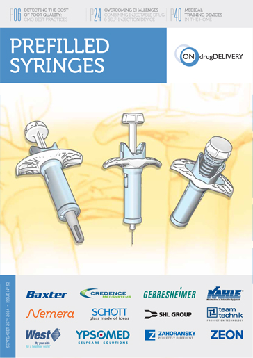 Prefilled Syringes - #52 - September 2014 cover
