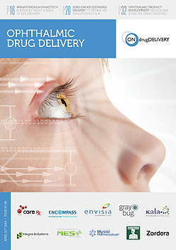 Ophthalmic Drug Delivery - #48 - April 2014 - cover