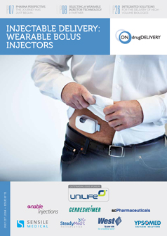Wearable Bolus Injectors - #51 # July 2014 cover