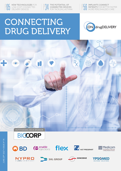 Connecting Drug Delivery - #76 - June 2017 cover