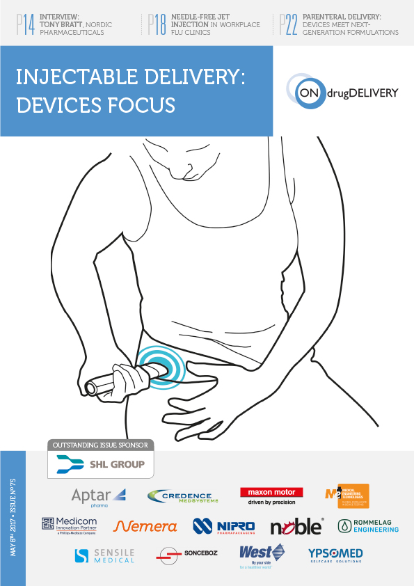 Injectable Delivery Devices - #75 - May 2017 cover