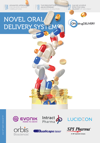 Novel Oral Delivery Systems - #77 - July 2017 cover