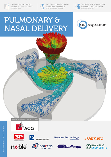 Pulmonary & Nasal Delivery - #80 - Nov 2017 cover