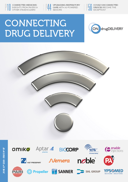 #87 - Jun 2018 Connecting Drug Delivery - Issue Cover