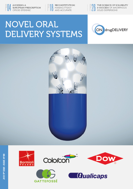 #88 - July 2018 - Oral Drug Delivery Issue Cover
