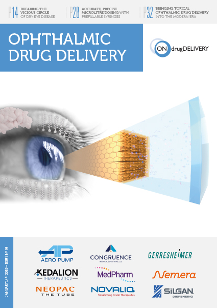 #94 - Jan 2019 - Ophthalmic Drug Delivery Issue Cover
