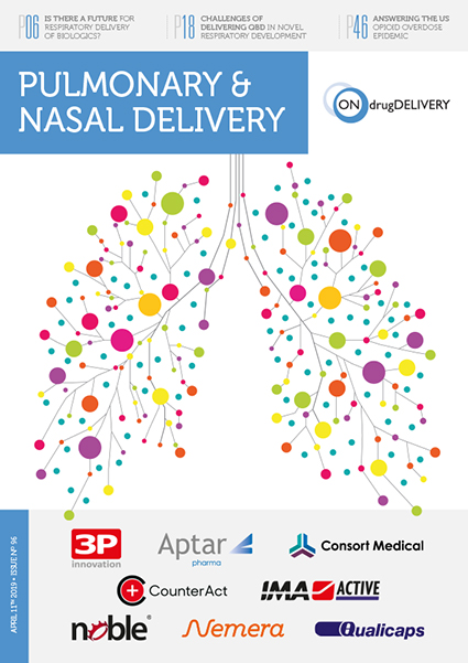 #96 2019 Pulmonary Nasal Delivery Issue Cover